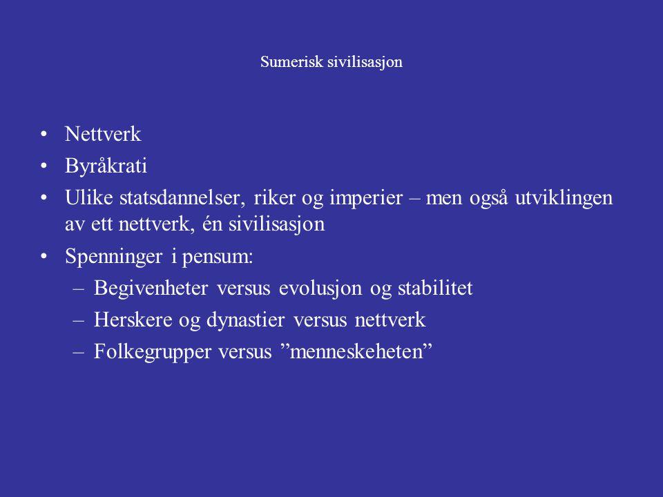 Sumerisk sivilisasjon
