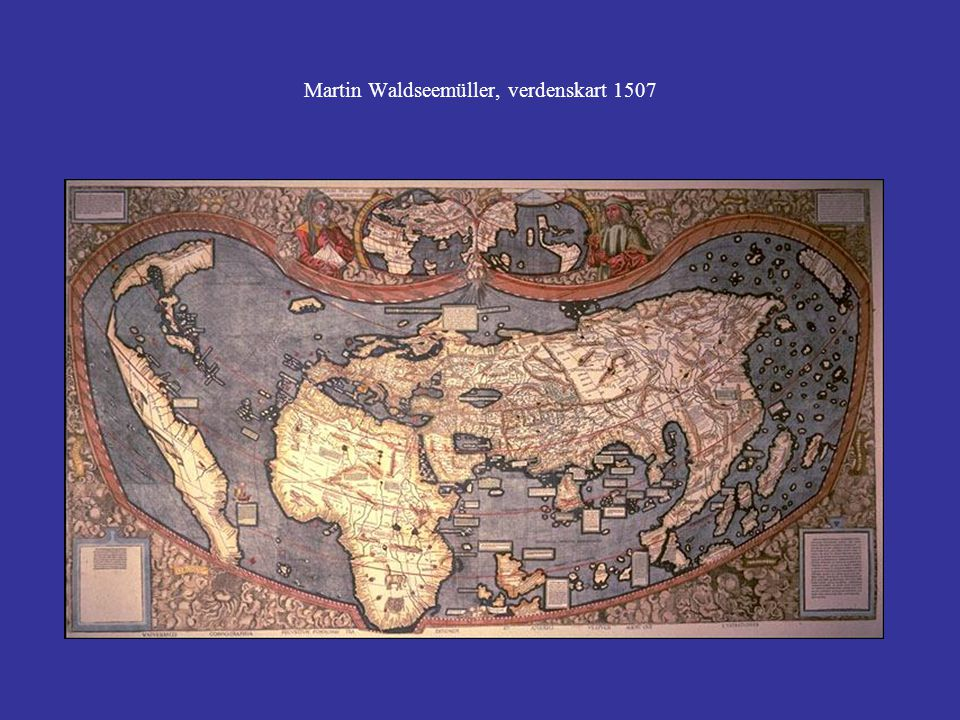 Martin Waldseemüller, verdenskart 1507