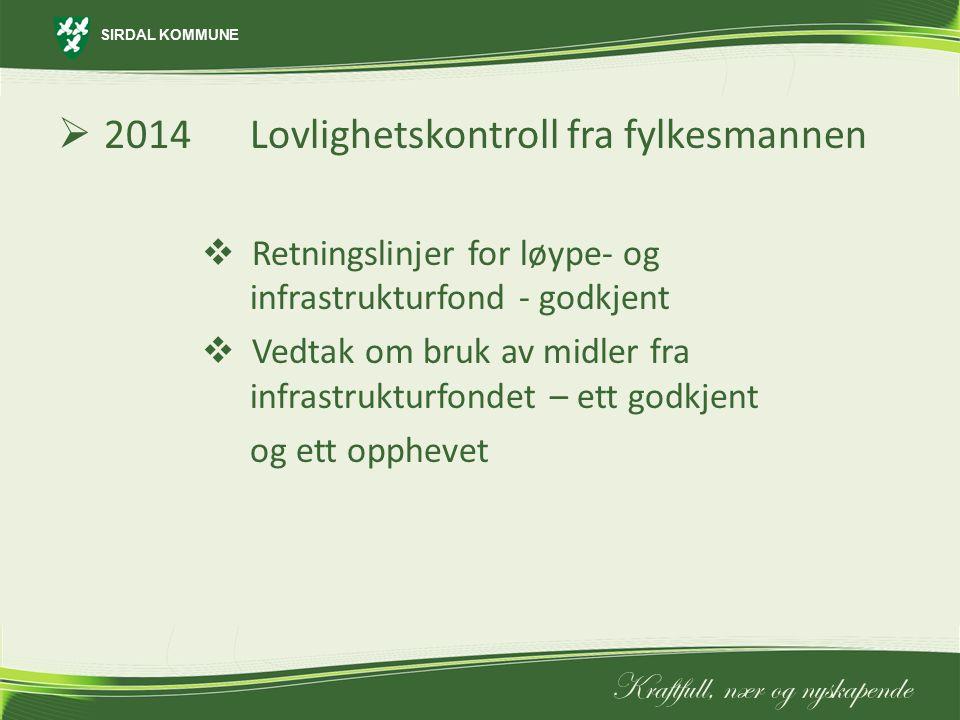 2014 Lovlighetskontroll fra fylkesmannen