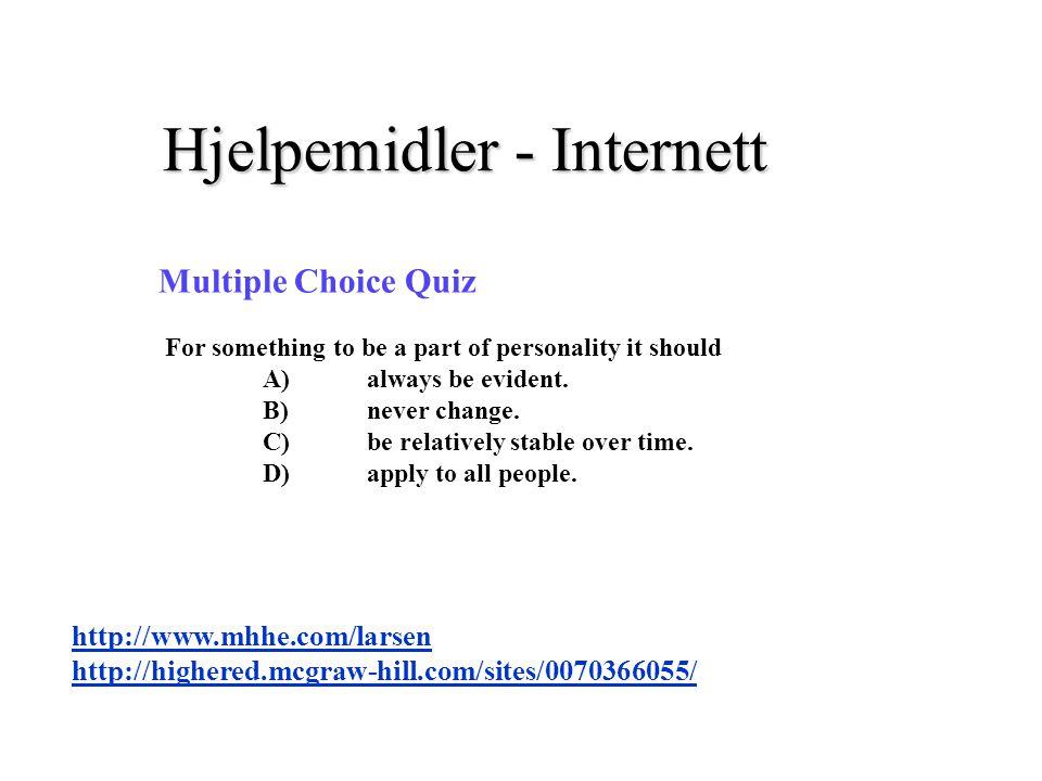Hjelpemidler - Internett