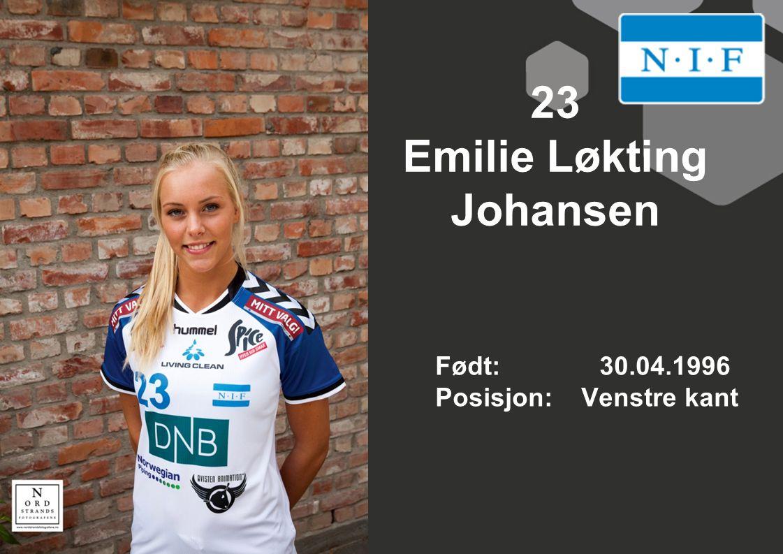 23 Emilie Løkting Johansen