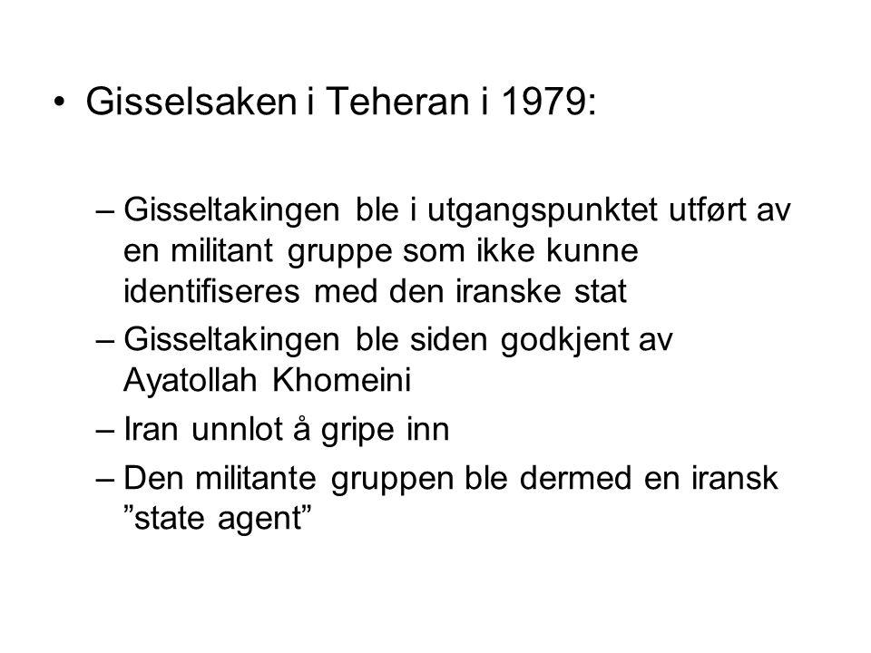 Gisselsaken i Teheran i 1979: