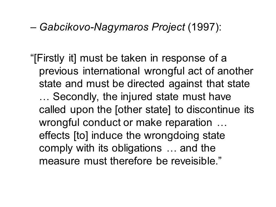 Gabcikovo-Nagymaros Project (1997):