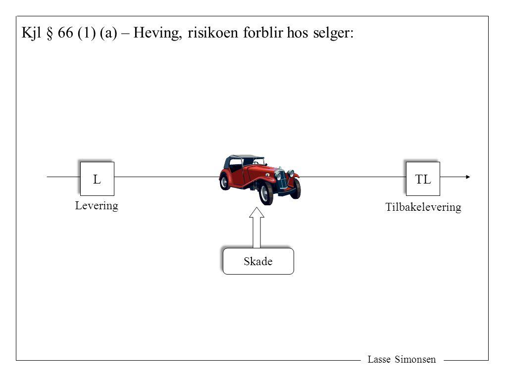 Kjl § 66 (1) (a) – Heving, risikoen forblir hos selger: