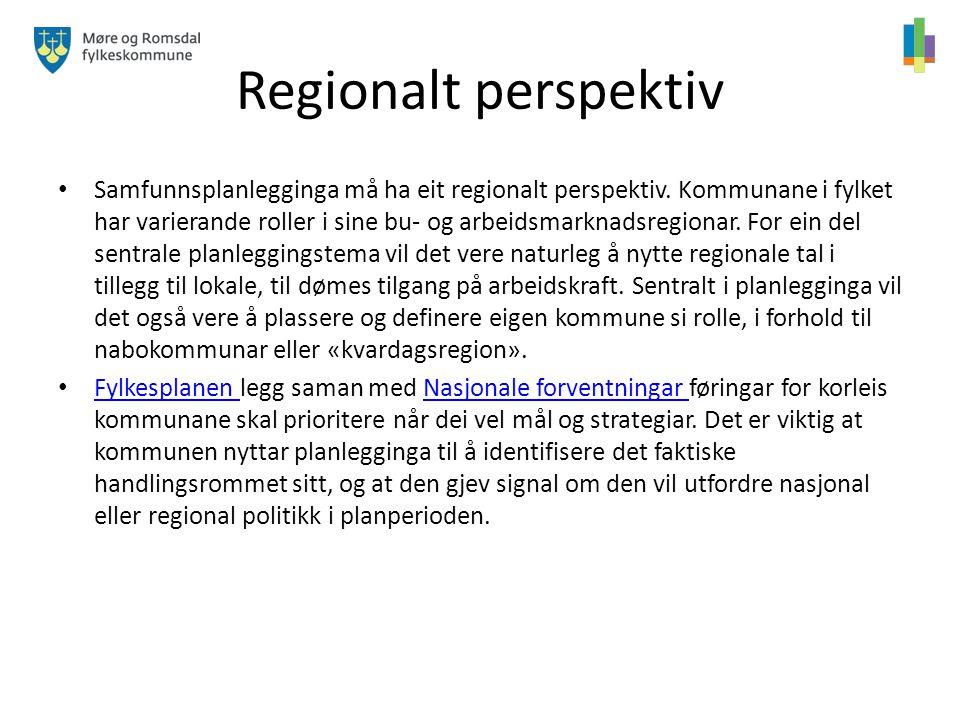 Regionalt perspektiv