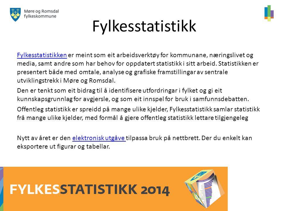 Fylkesstatistikk