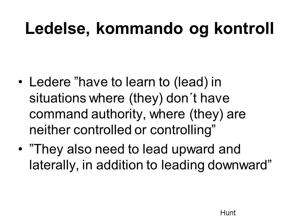 Ledelse, kommando og kontroll