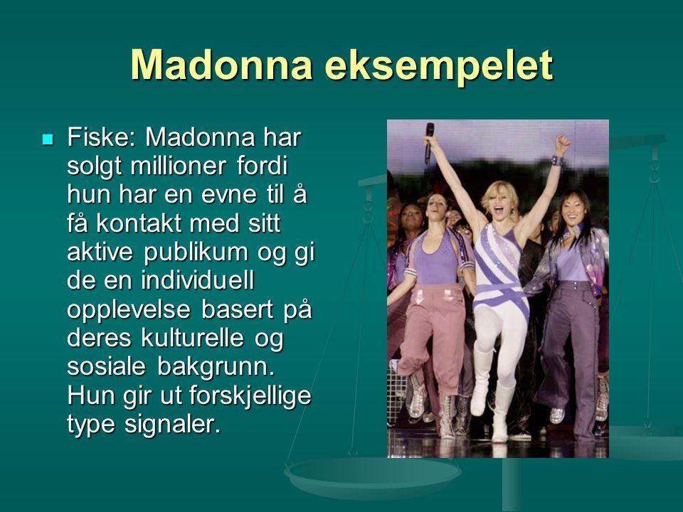Madonna eksempelet