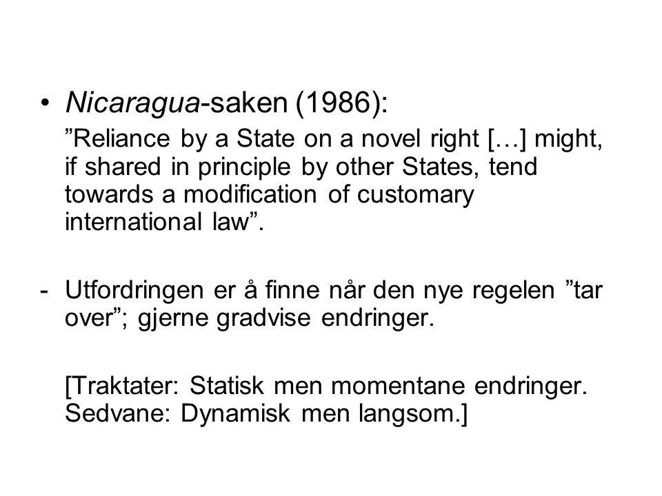 Nicaragua-saken (1986):