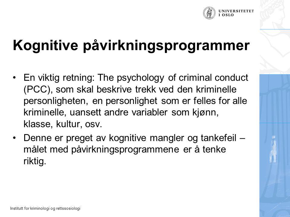 Kognitive påvirkningsprogrammer