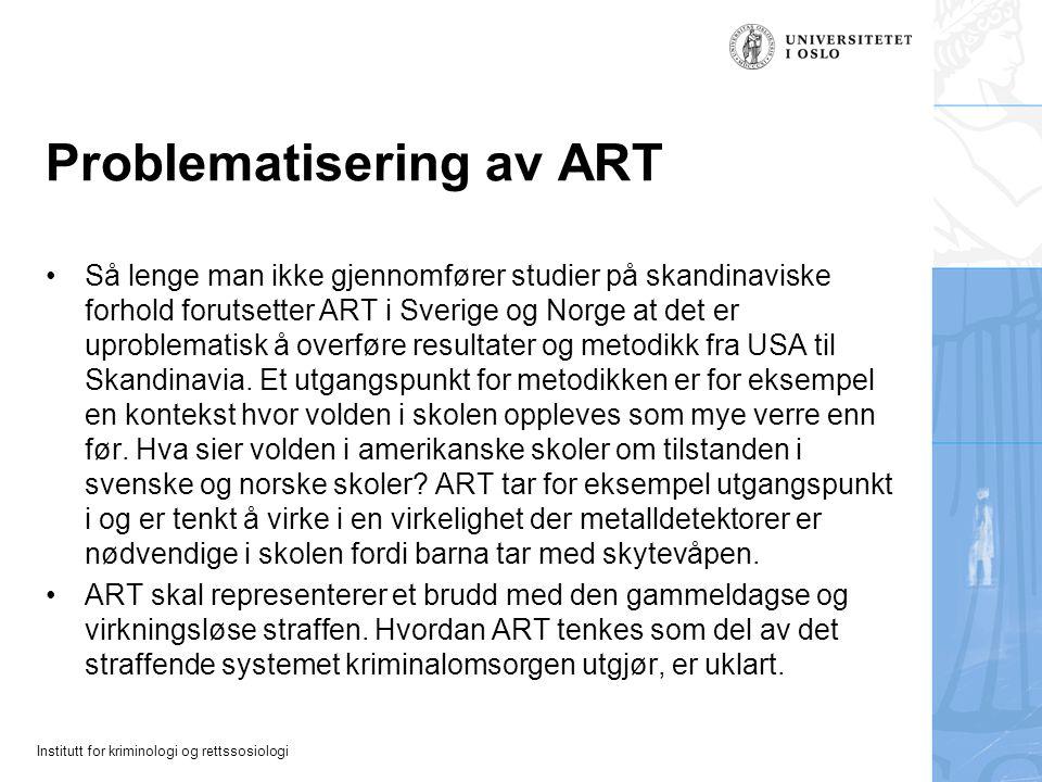 Problematisering av ART
