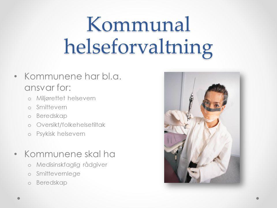 Kommunal helseforvaltning