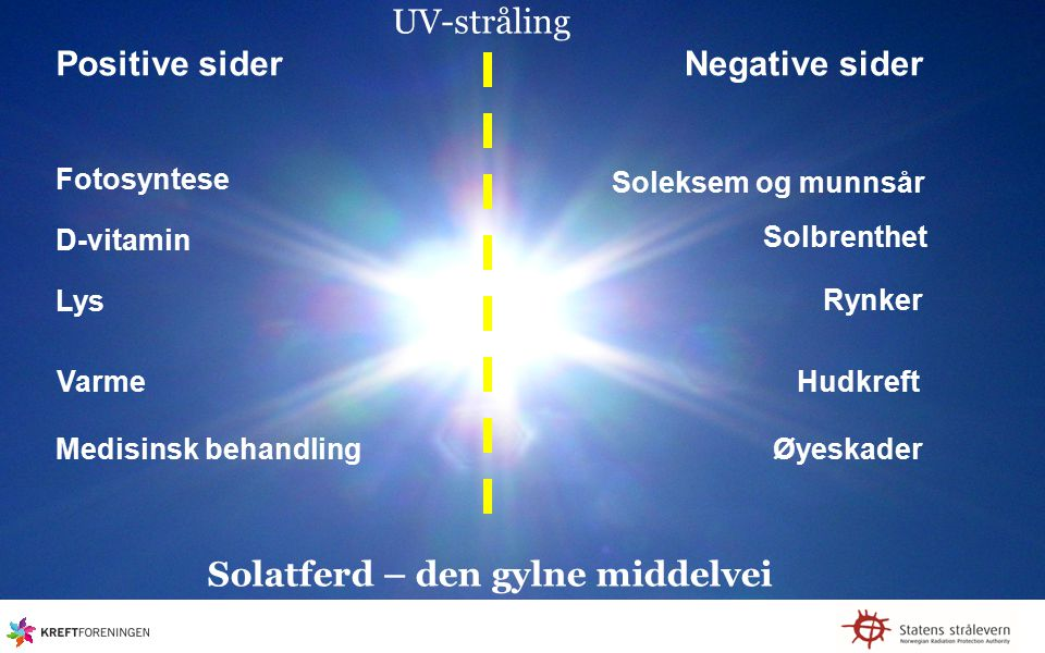 Solatferd – den gylne middelvei