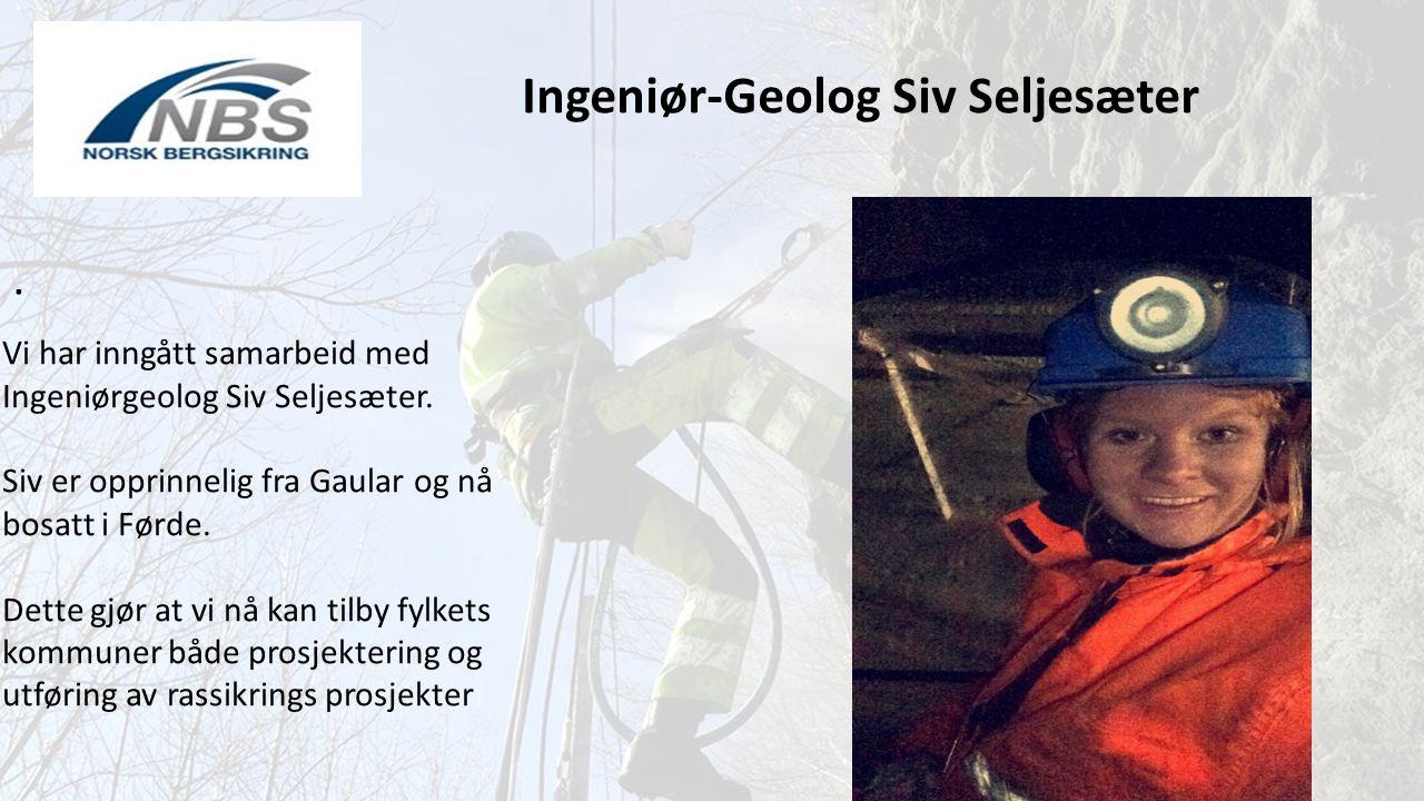 Ingeniør-Geolog Siv Seljesæter