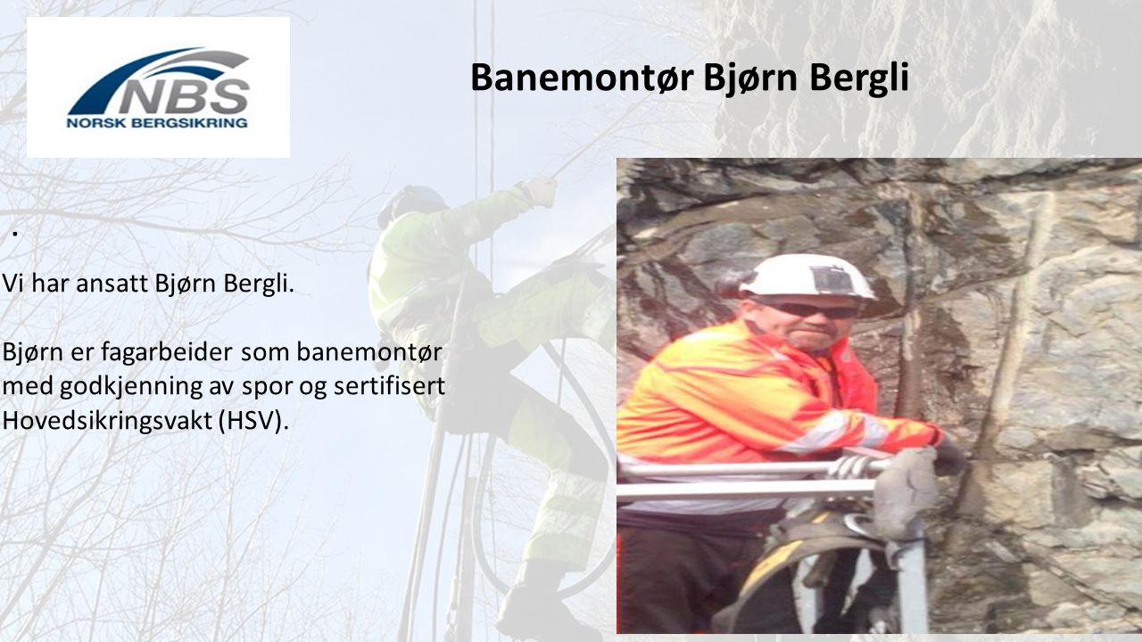 Banemontør Bjørn Bergli