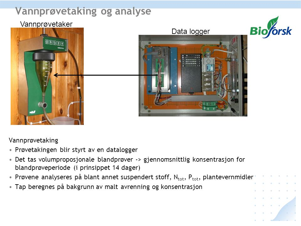 Vannprøvetaking og analyse