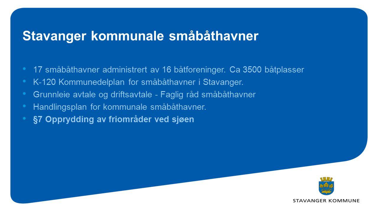 Stavanger kommunale småbåthavner