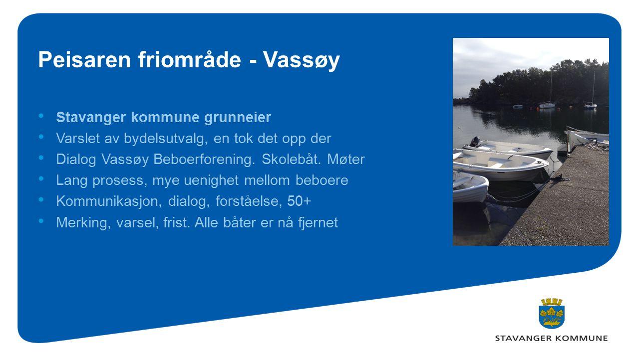 Peisaren friområde - Vassøy