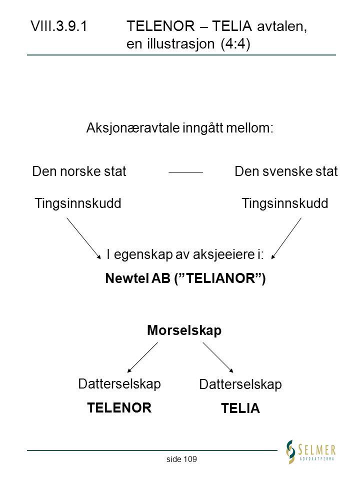 VIII.3.9.1 TELENOR – TELIA avtalen, en illustrasjon (4:4)