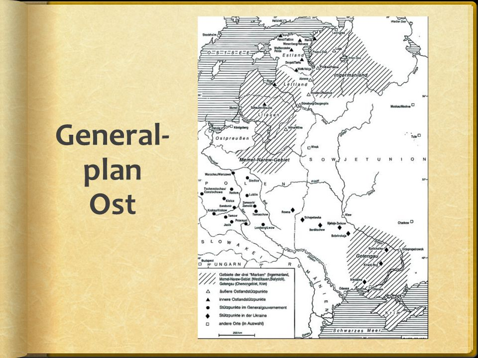 General- plan Ost