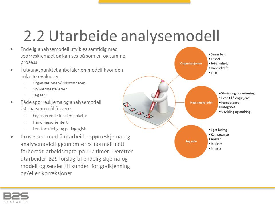2.2 Utarbeide analysemodell