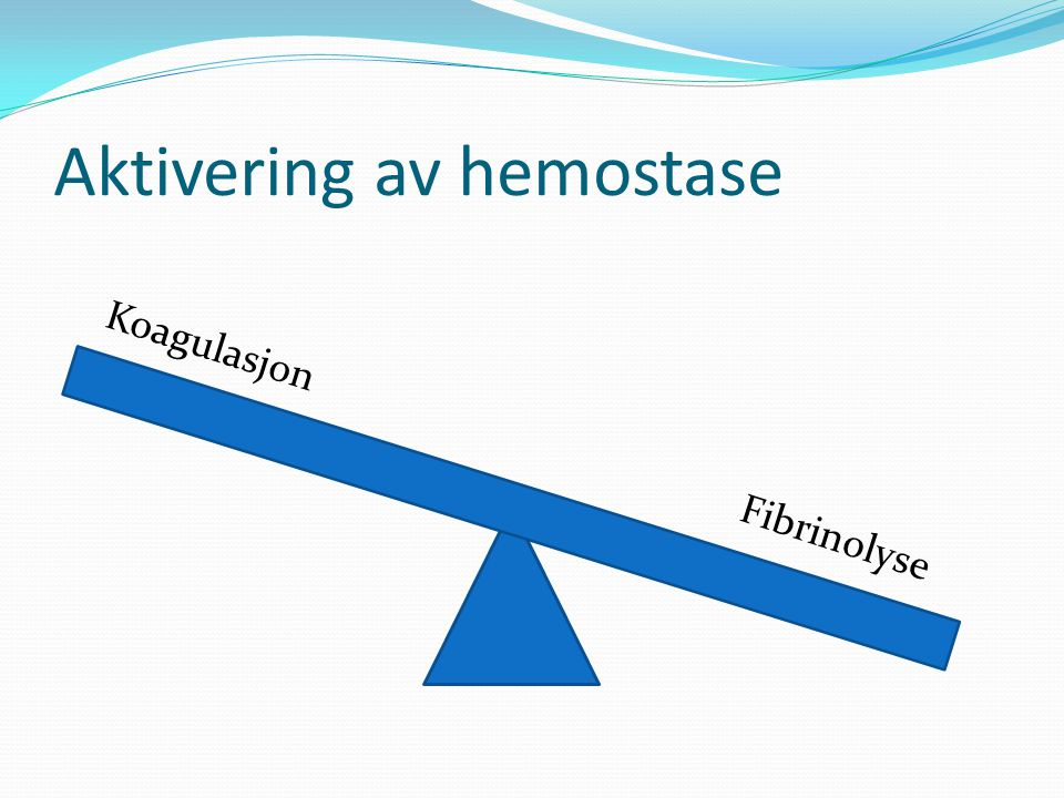 Aktivering av hemostase