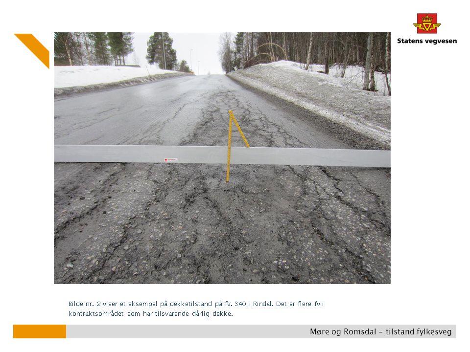 Møre og Romsdal - tilstand fylkesveg