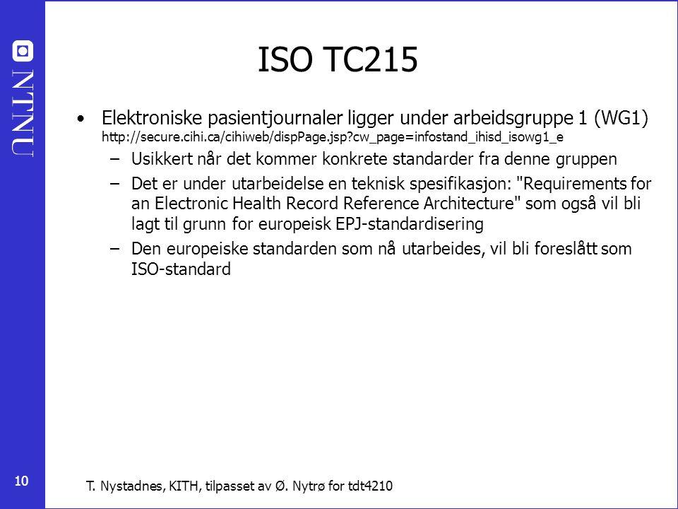 ISO TC215
