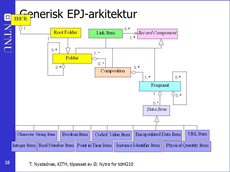 Generisk EPJ-arkitektur