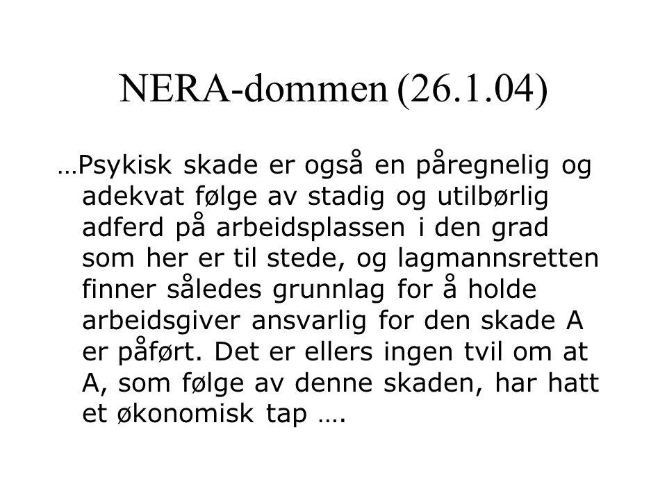 NERA-dommen (26.1.04)
