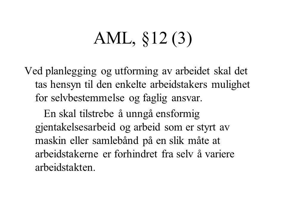 AML, §12 (3)