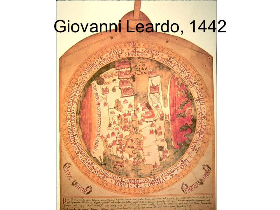 Giovanni Leardo, 1442