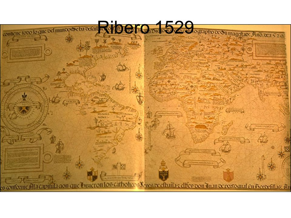 Ribero 1529 TITLE: Carta Universal. . . DATE: 1529