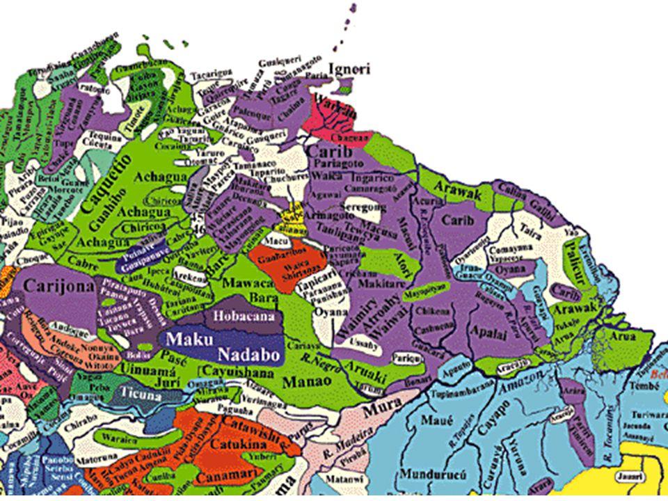 Språk i nordre delen av Sør-Amerika