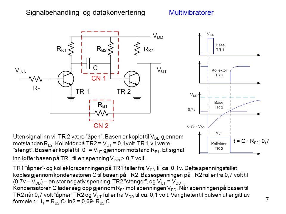 Signalbehandling og datakonvertering Multivibratorer