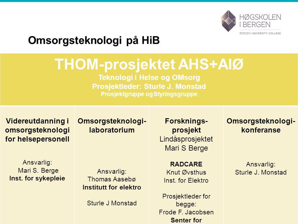 Omsorgsteknologi på HiB