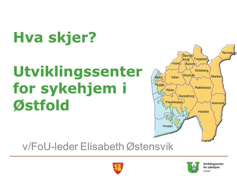 Hva skjer Utviklingssenter for sykehjem i Østfold