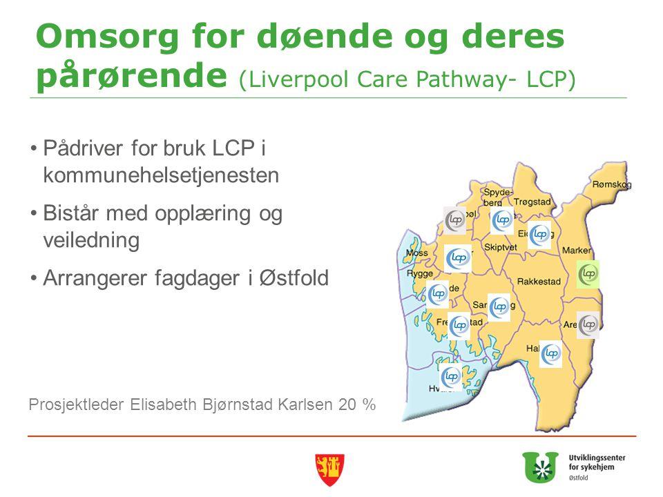 Omsorg for døende og deres pårørende (Liverpool Care Pathway- LCP)