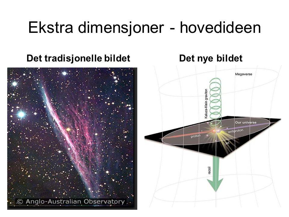 Ekstra dimensjoner - hovedideen
