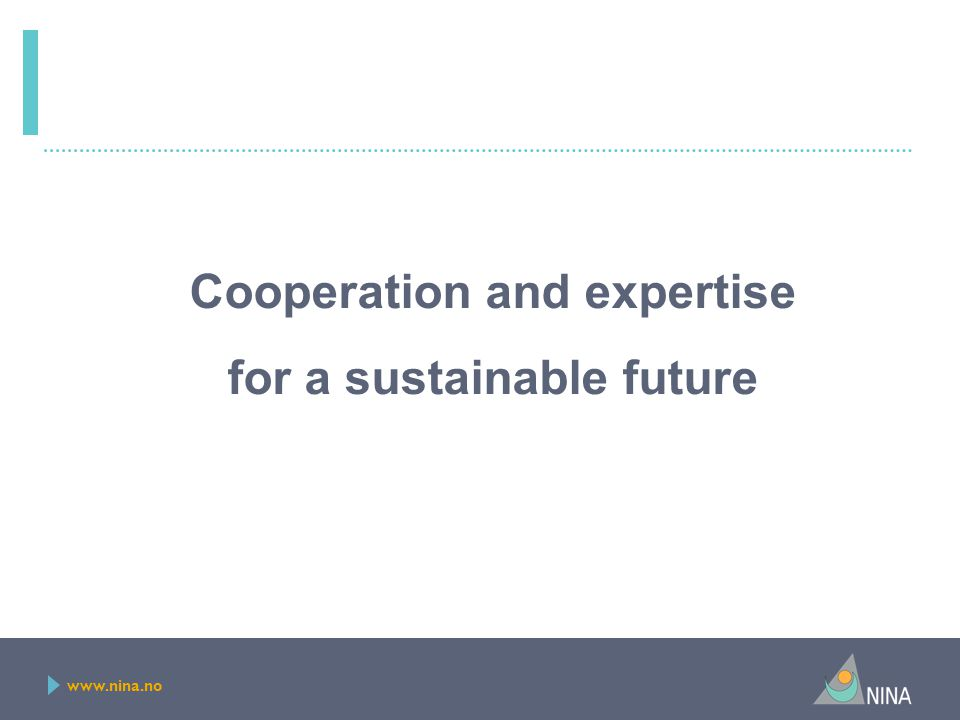 Cooperation and expertise for a sustainable future