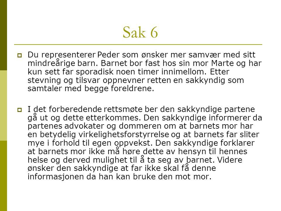 Sak 6