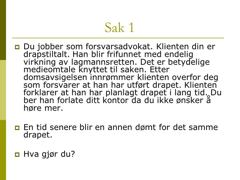 Sak 1