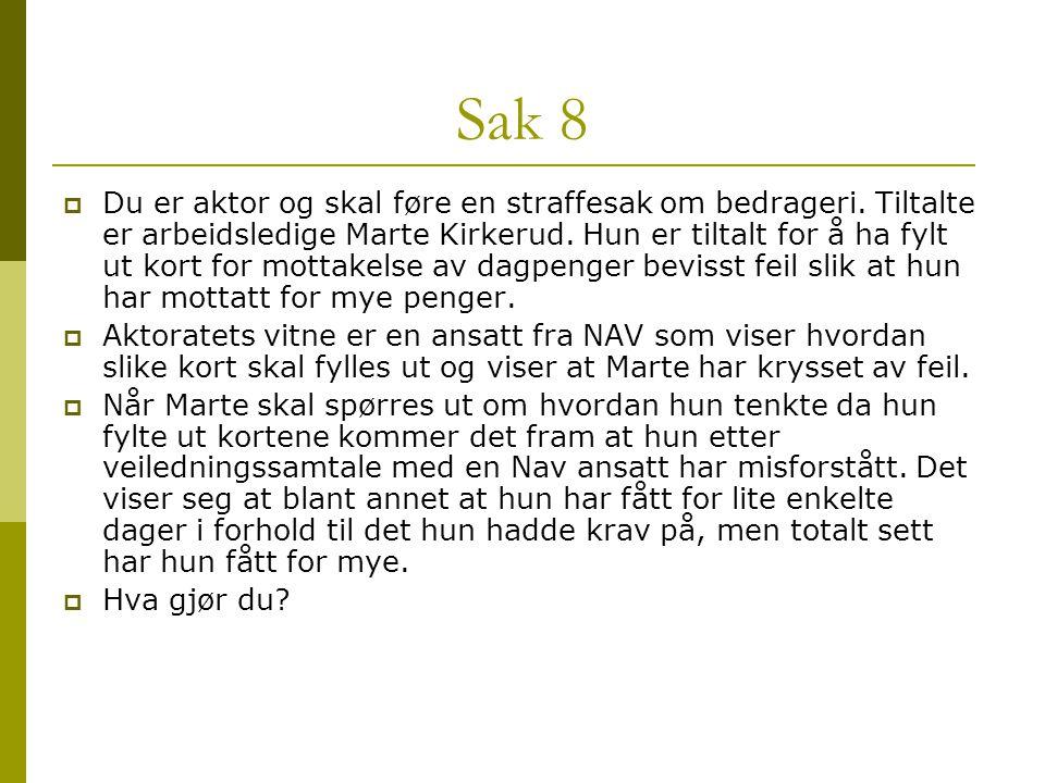 Sak 8