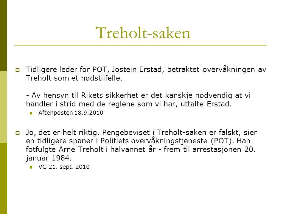 Treholt-saken