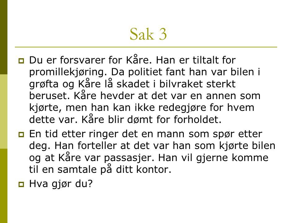 Sak 3