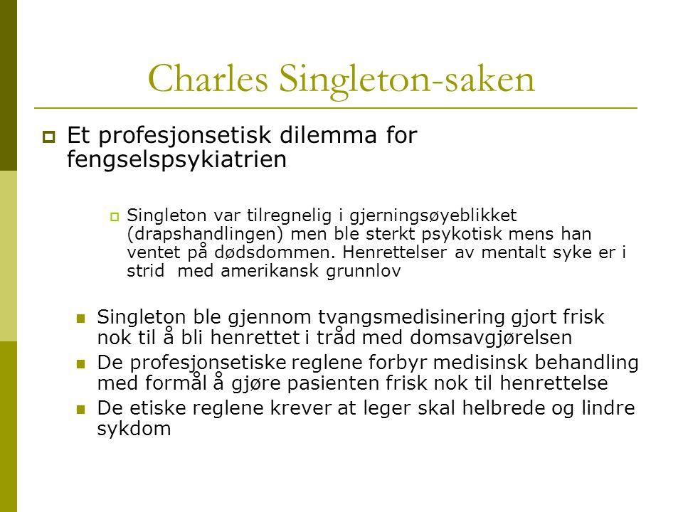 Charles Singleton-saken