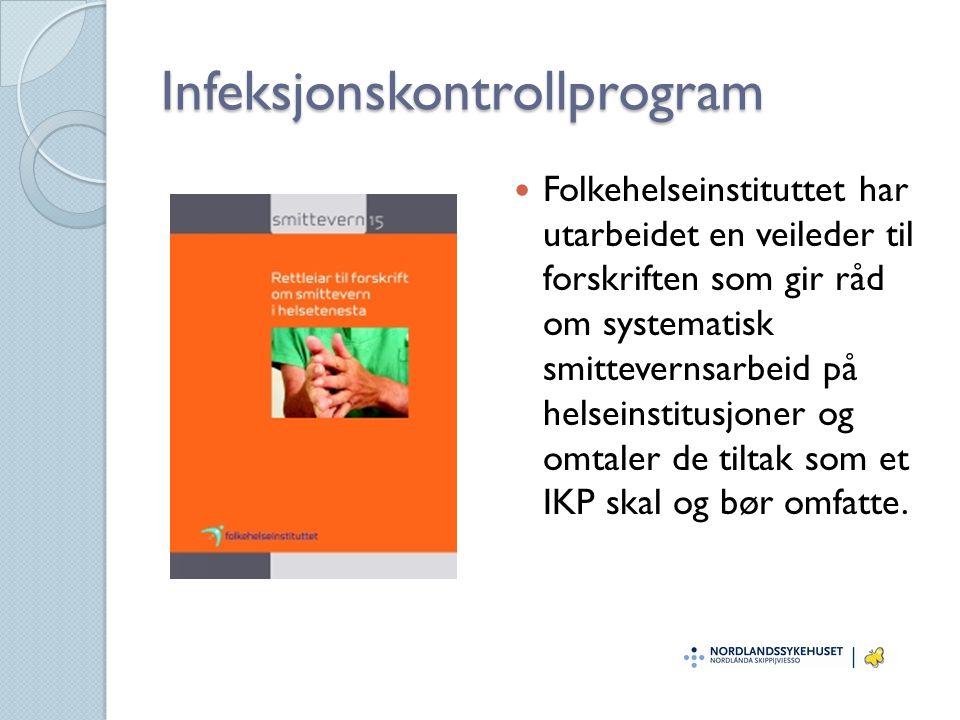Infeksjonskontrollprogram
