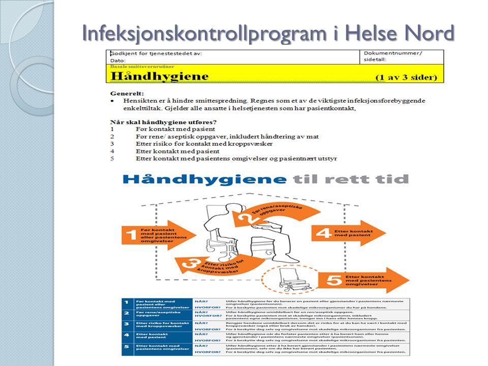 Infeksjonskontrollprogram i Helse Nord