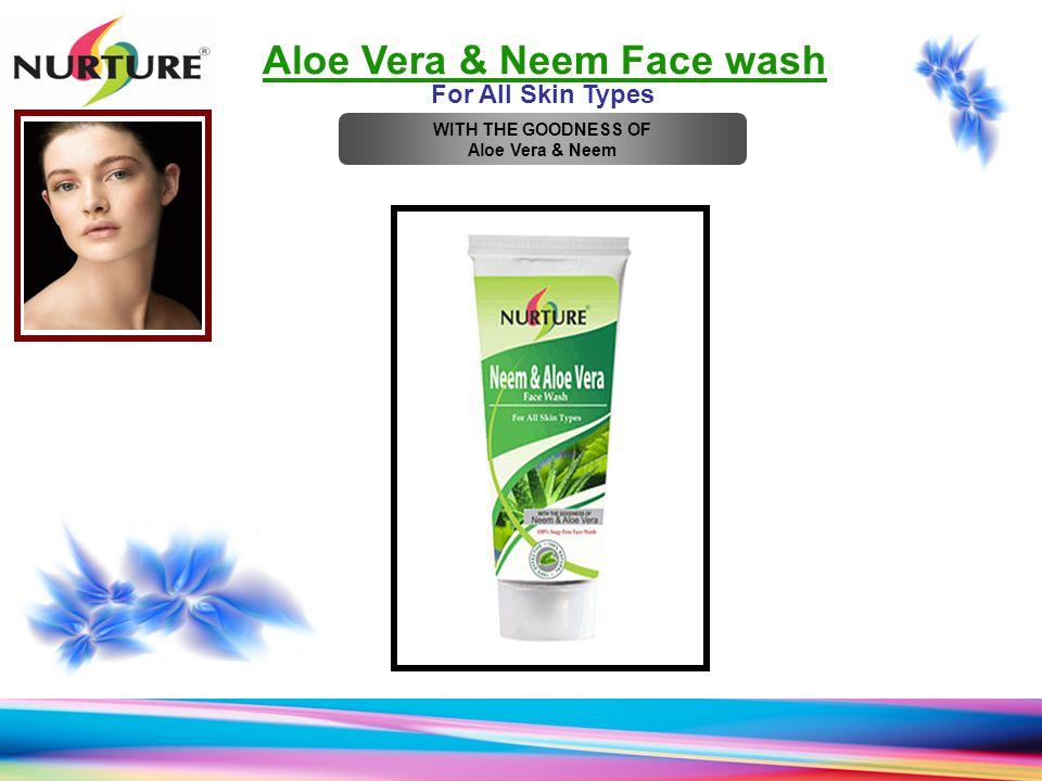 Aloe Vera & Neem Face wash