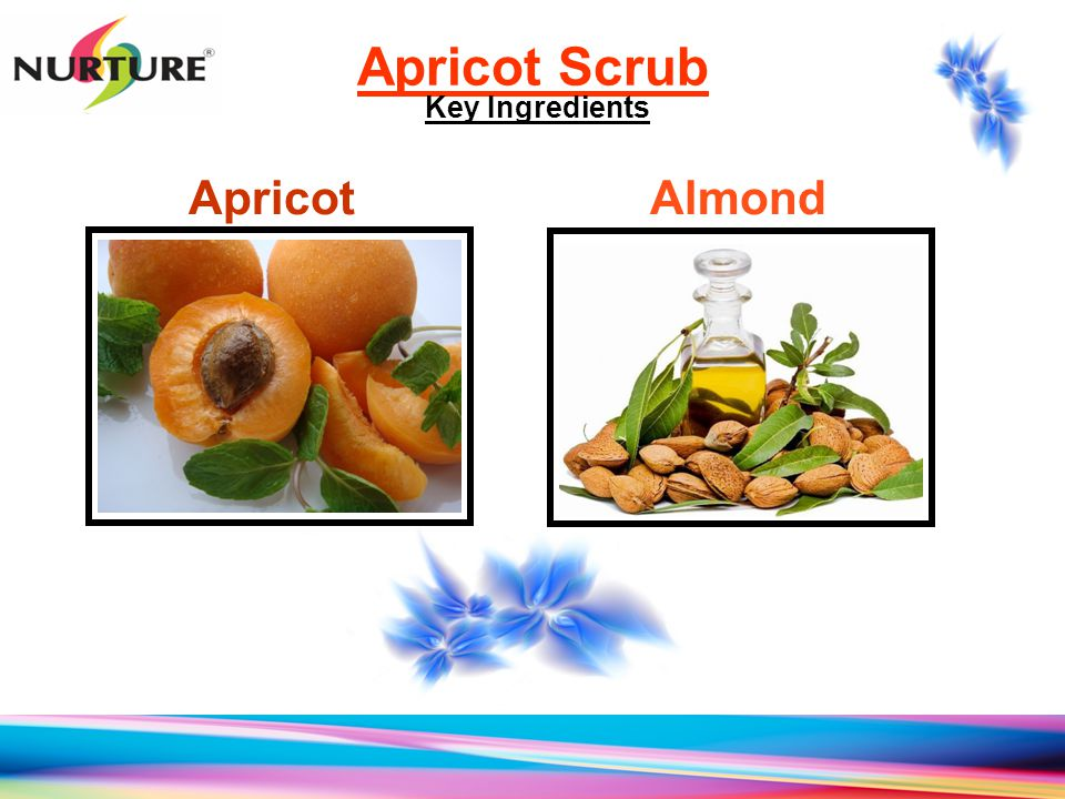 Apricot Scrub Key Ingredients Apricot Almond